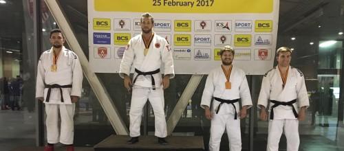 Brons judoka Duco van Buuren op het Antwerp Open.