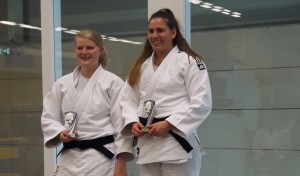 Goud en zilver voor Aycan Durmusoglu en CIndy Rikhof van Judo Promotion Twente