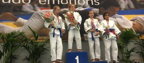 Jochem van Dijk wint de Ippon Trophy, een Belgisch ranking toernooi.