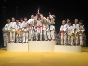 Dutch Open teams heren -10 brons