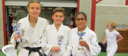 5 Kampioenen voor Judo Promotion Twente in Hardenberg