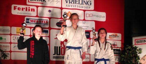 Drie JPT judoka kampioen in Dedemsvaart.