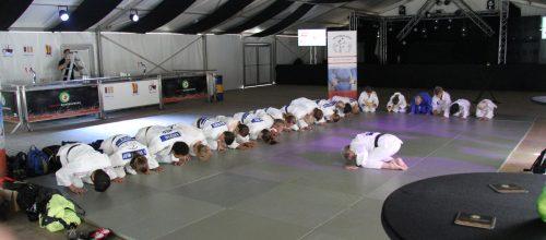 Judoka Judo Promotion Twente actief op wijkfeest Slangenbeek