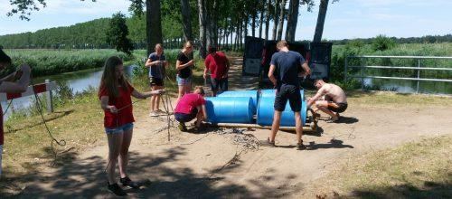 Wedstrijdgroep Judo Promotion Twente krijgt sportieve dag aangeboden door Senshi uit Nijverdal.