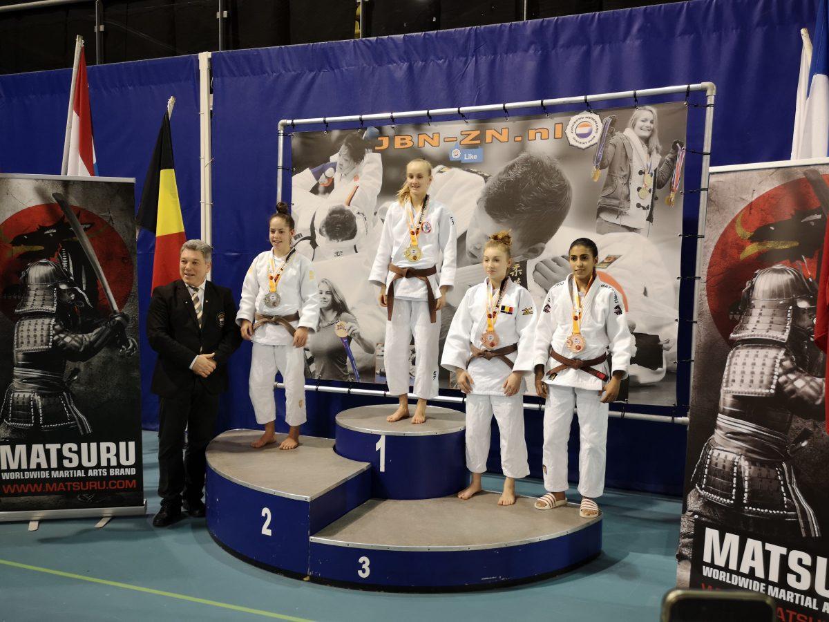 Nohade Riadi brons op Dutch Open Espoir