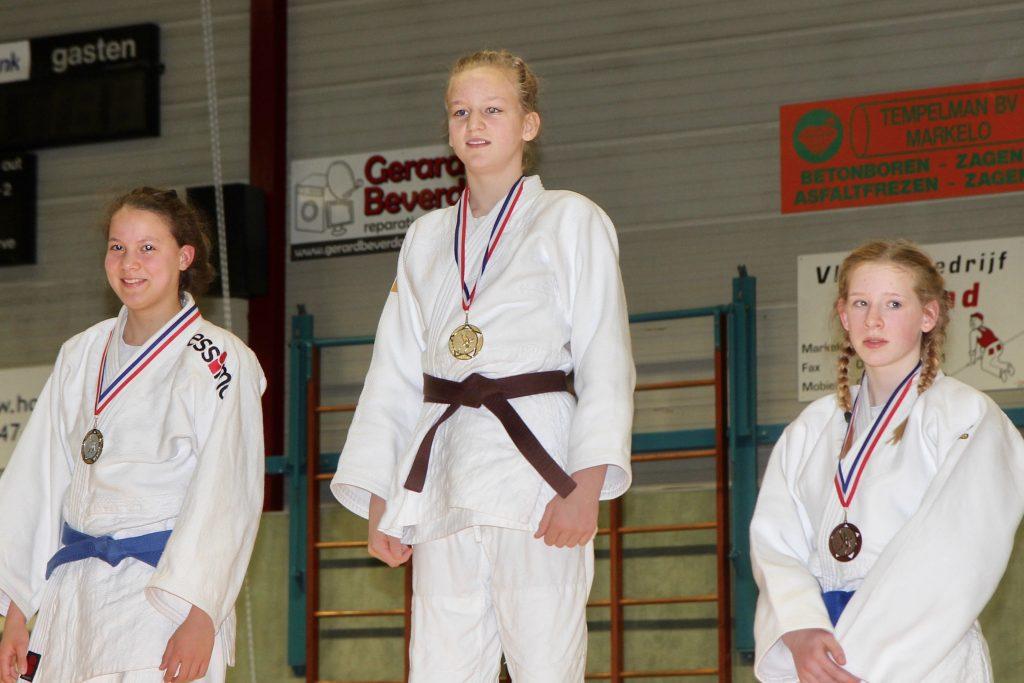 Goud voor Linde Hanstede op DK -15 jaar