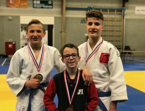 Judoka Linde Hanstede kampioene van Oost-Nederland tot 15 jaar.