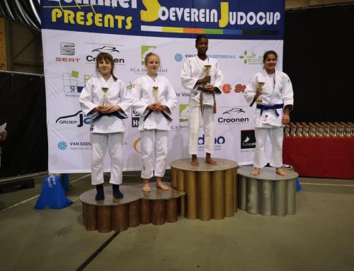 JPT judoka Linde Hanstede pakt wederom brons