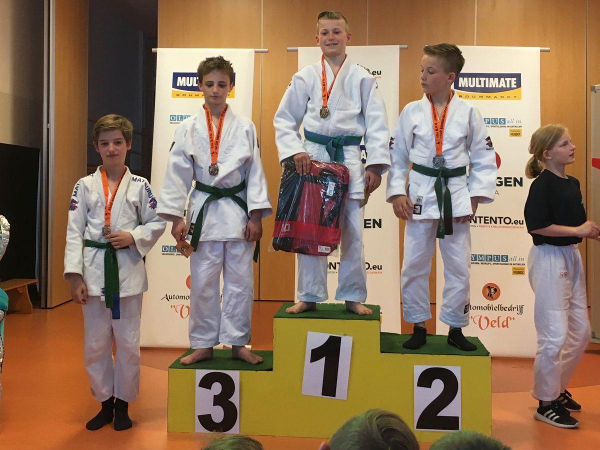 Brons voor Matteo Melisie in Hasselt