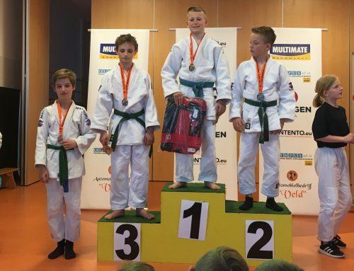 Veel eremetaal voor JPT-judoka's in Hasselt