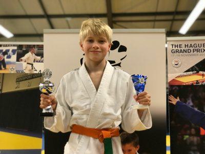 JPT judoka Dani Yefimov wint de stijlprijs