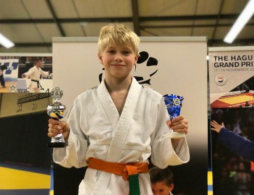JPT-judoka Dani Yefimov wint stijlprijs.