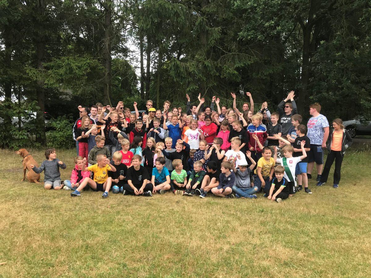 Groepsfoto kamp 2019
