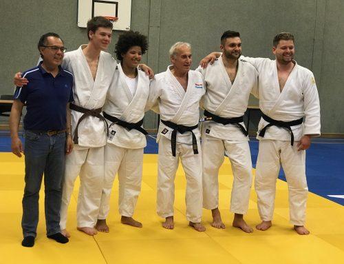 JPT-judoka Danée Roseval en Daniël Timmerman geslaagd voor hun 1edan.