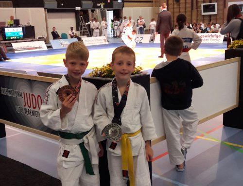 Goud, zilver en brons voor JPT op sterk bezet toernooi in Venray.