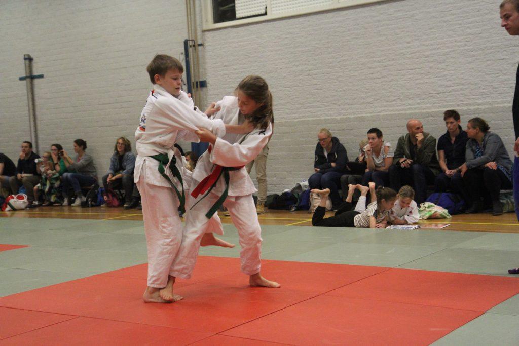 Elisa en Roy tijdens clubkampioenschappen
