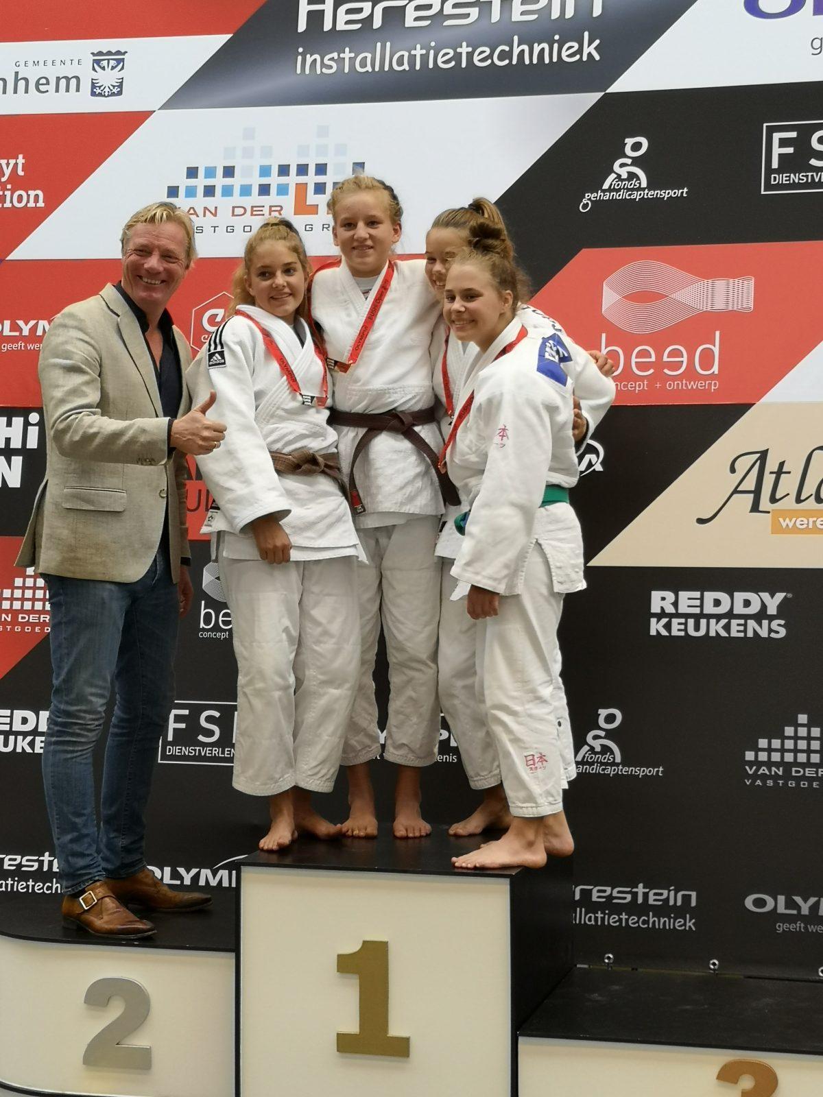 Goud voor Linde Hanstede op Bushi Open