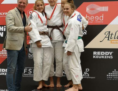 Bushi Open prooi voor judoka Linde Hanstede van JPT.