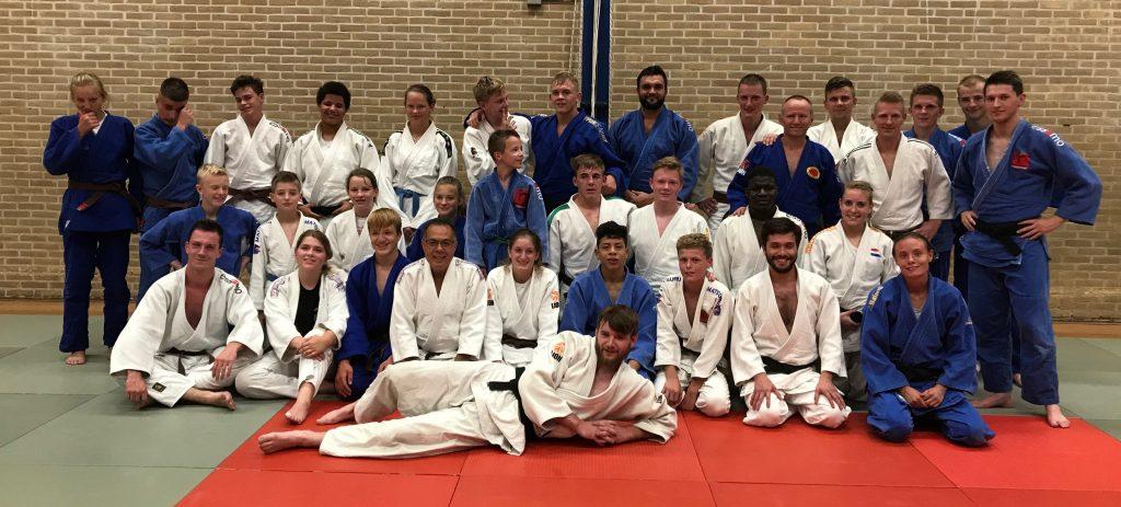 Oudste groep judotraining JPT