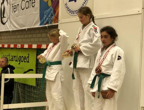 Goud en zilver voor Judo Promotion Twente op Open Drents Judo Kampioenschap te Emmen.
