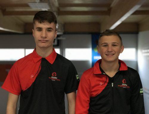 Luca Dikken en Ruben Wilbrink deelnemers nationale RTC-dag Papendal.