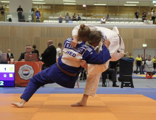 Zilver voor JPT-judoka Linde Hanstede