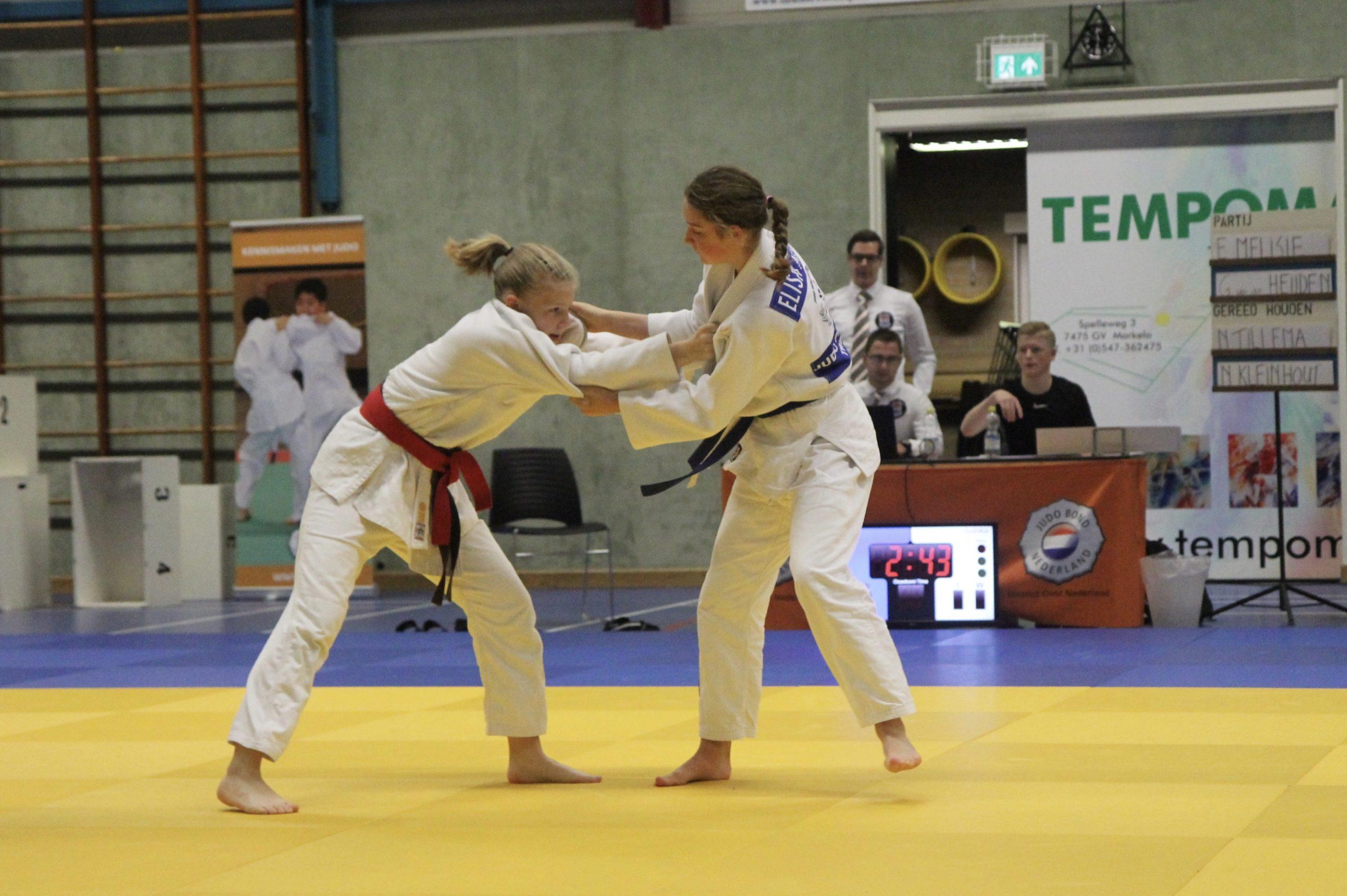 Elisa Melisie in actie tijdens DK-15